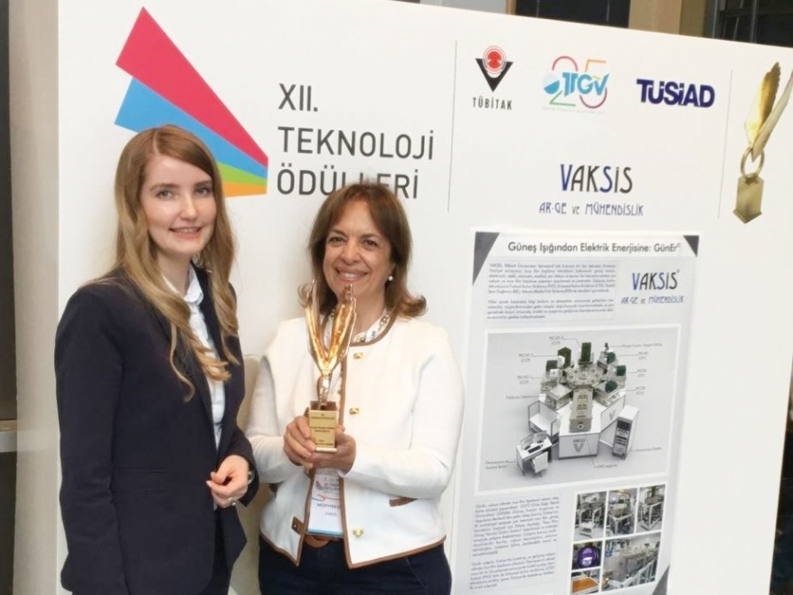 Vaksis has been awarded with XII. Technology Award